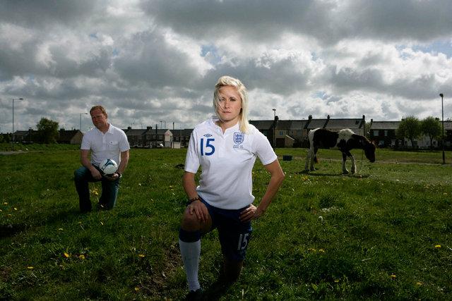 Steph Houghton, England Footballer & Father