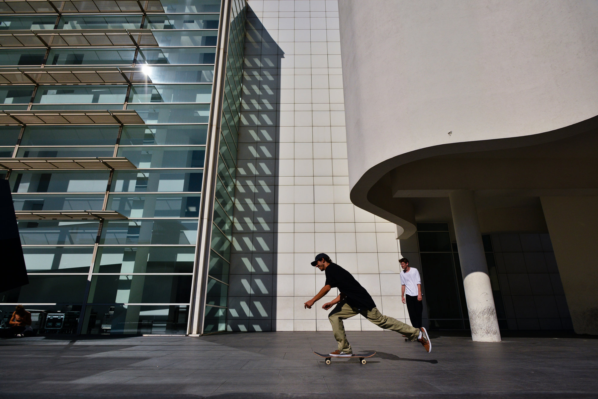 Skate or die at MACBA