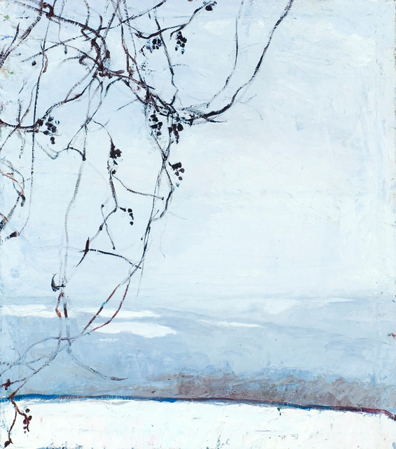 Wild Grape- Winter, 38 x 32""