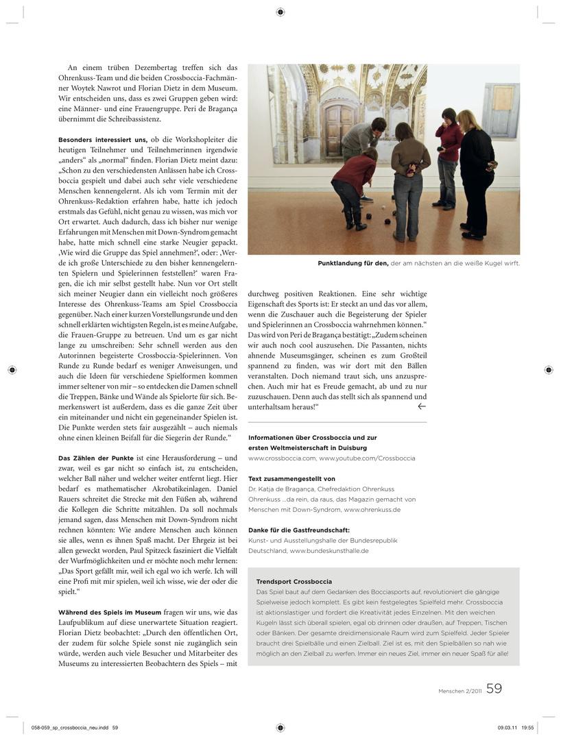 MENSCHEN.das magazin 02.2011