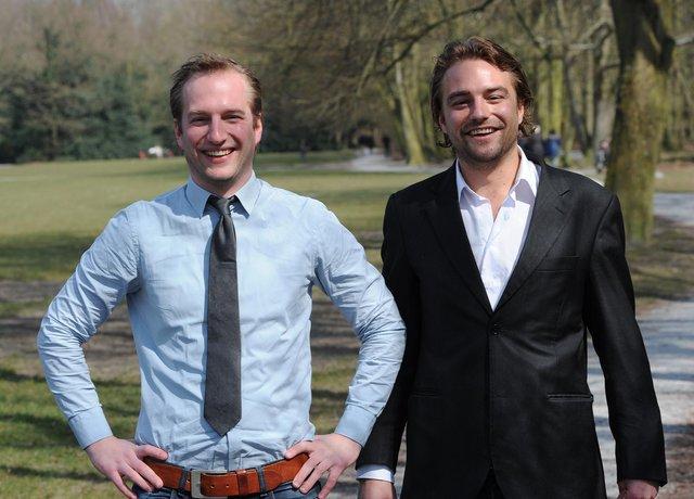 Martin en Niels Olsthoorn