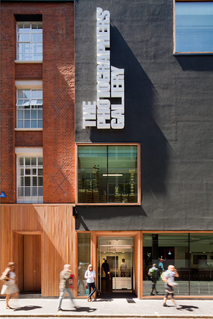 Photographers' Gallery, London. O'Donnell and Tuomey Architects