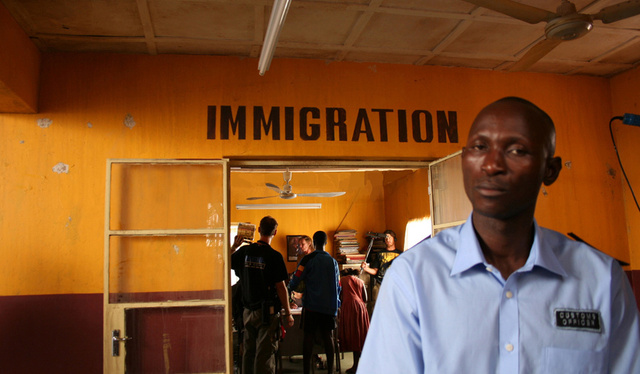 Congo Immigration Office Int