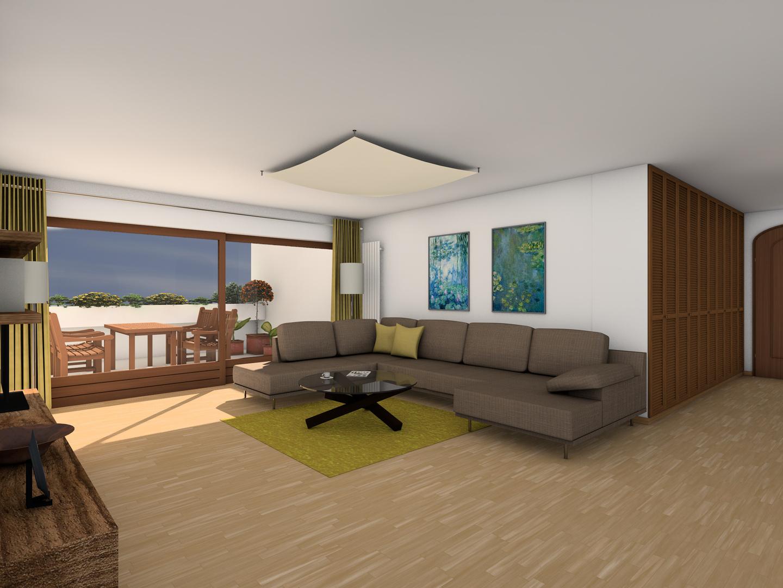 Umwandlung Bestandswohnung | Wohnzimmer