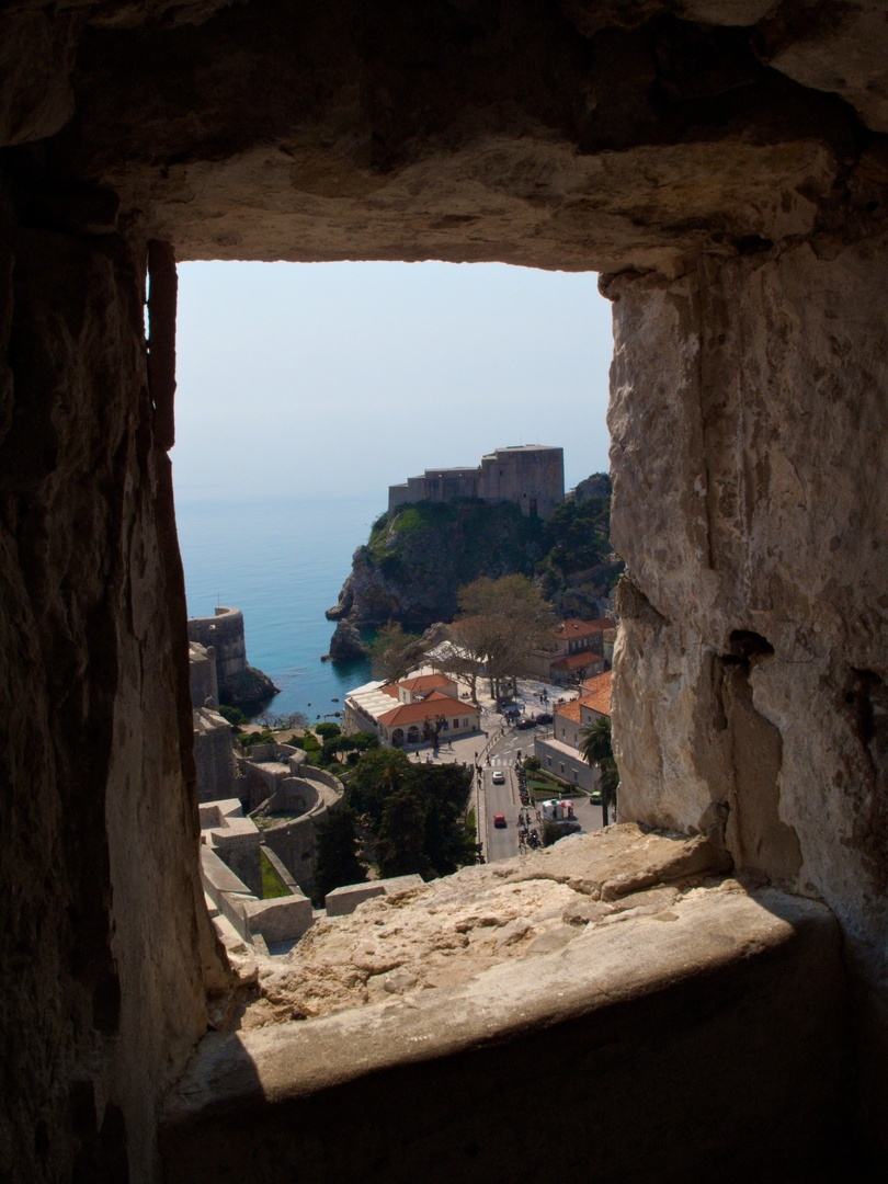 Vista da Muralha de Dubrovnik