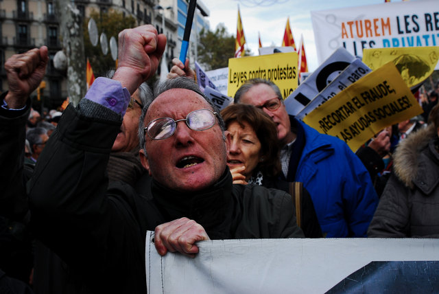 The faces of the Spanish economic crisis