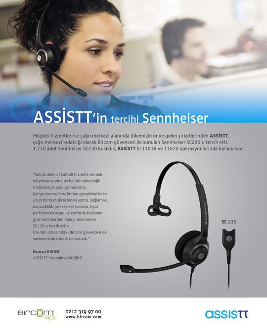 Sennheiser - Press Ads