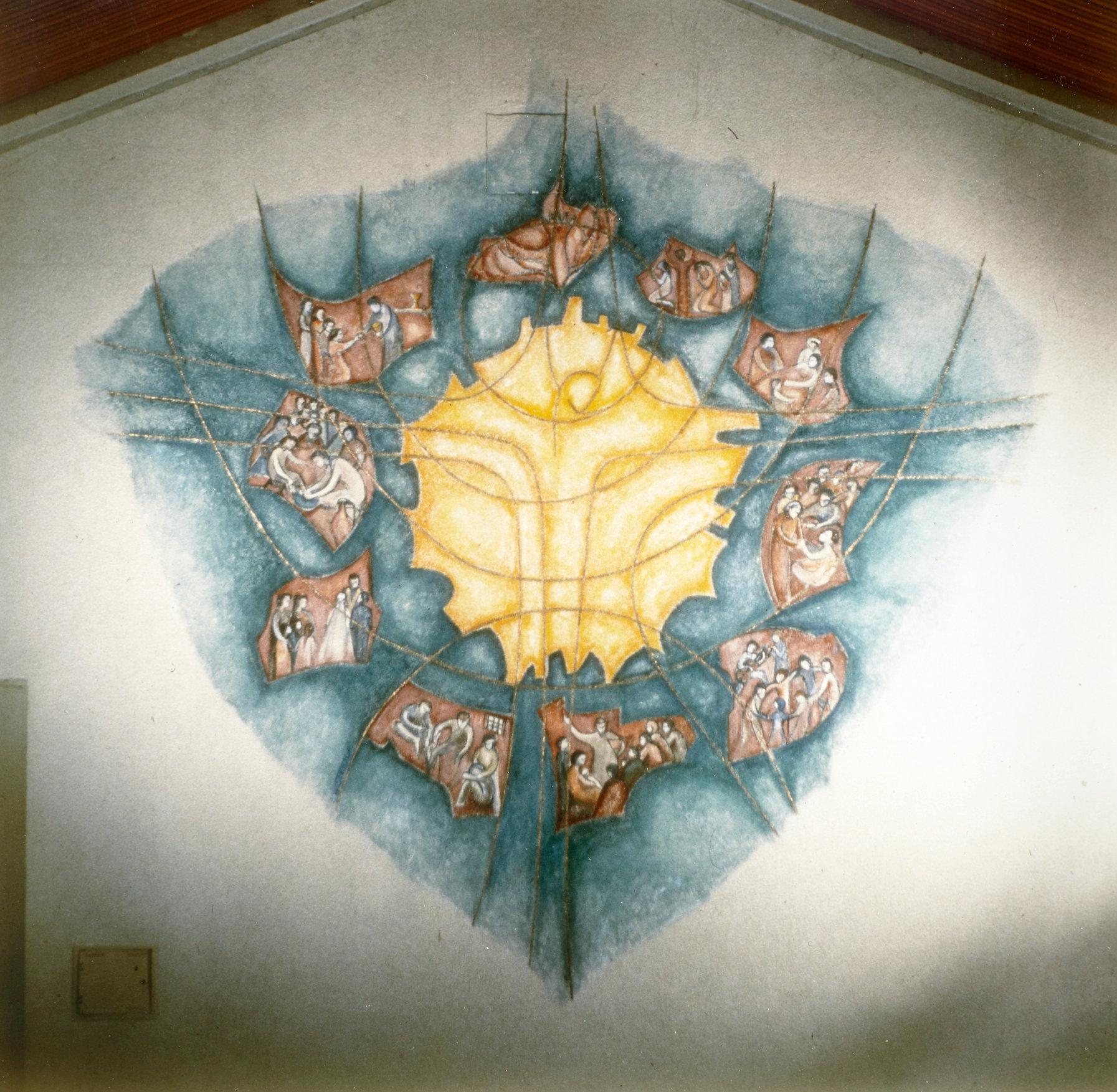 Symbol für Sonne und Gemeinde
