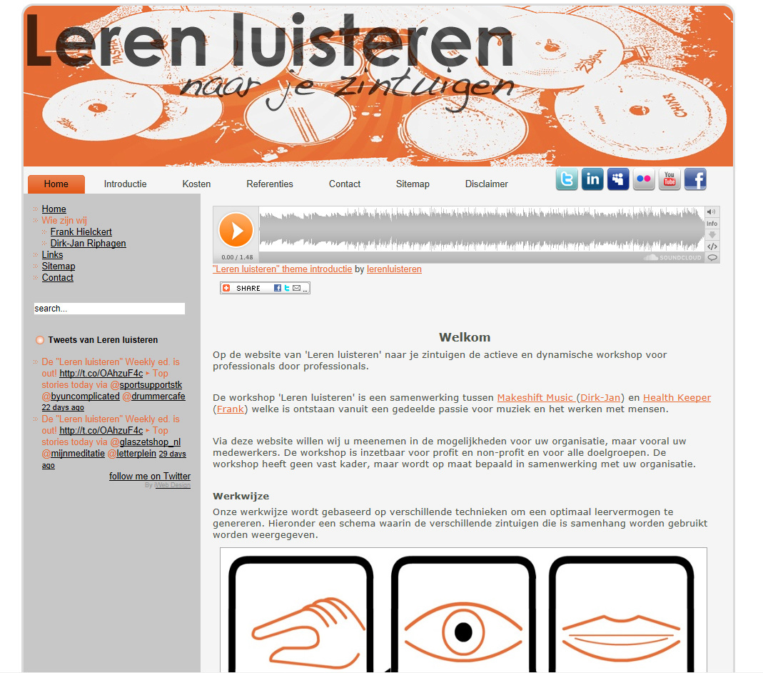 Webdesign Leren Luisteren