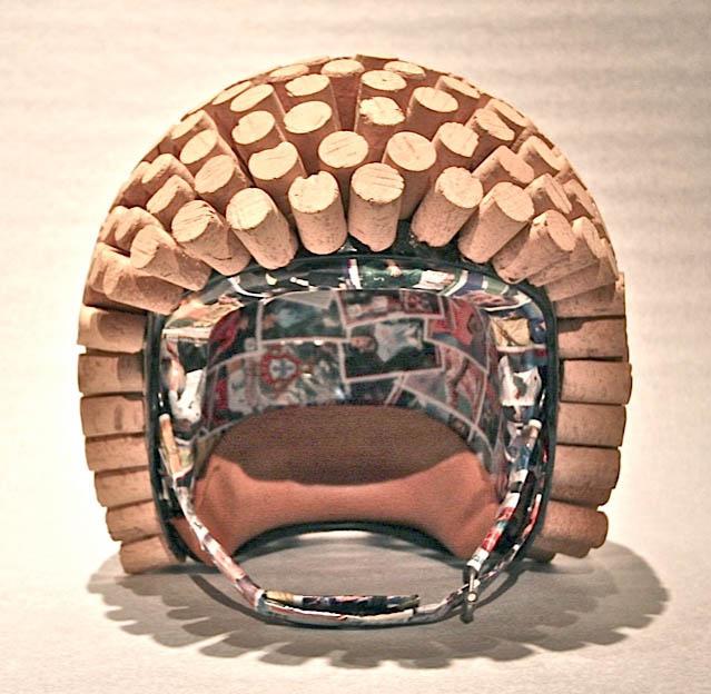 Eduardo Bettega The Helmet -For Marcel- 2012