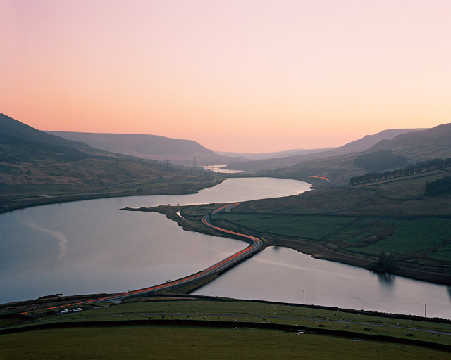 Longdendale Reservoir Chain, Derbyshire