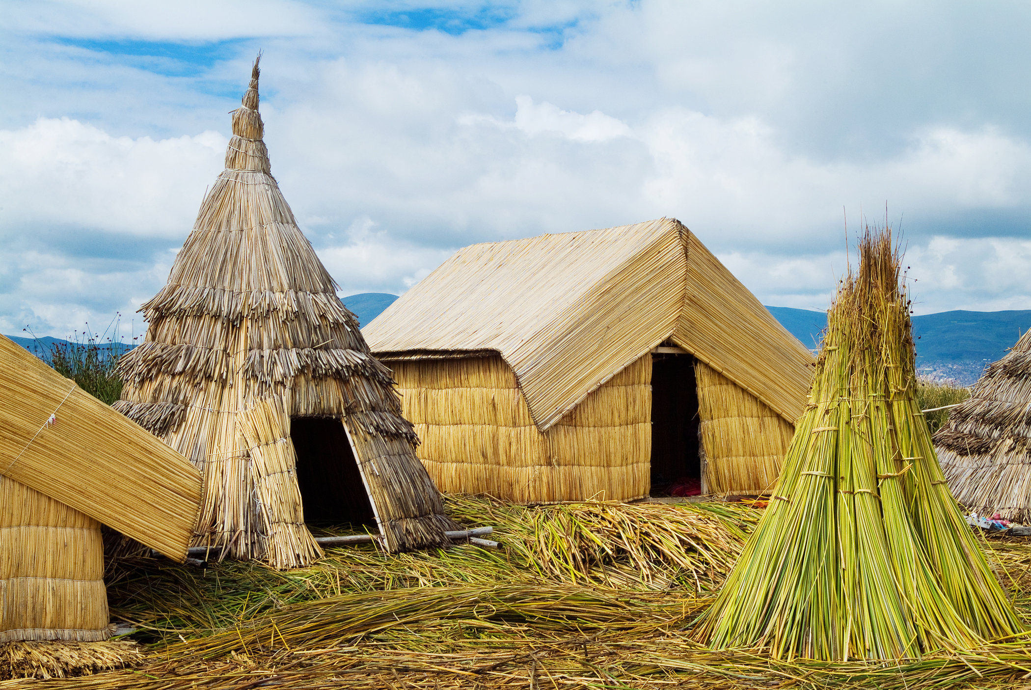Floating village of Uros