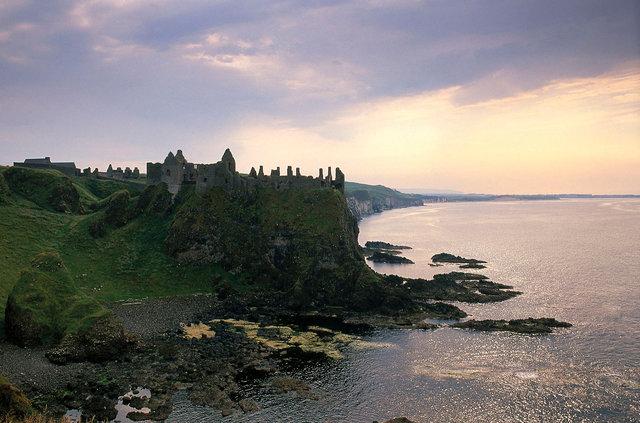 Dunluce Castle,comté d'Antrim