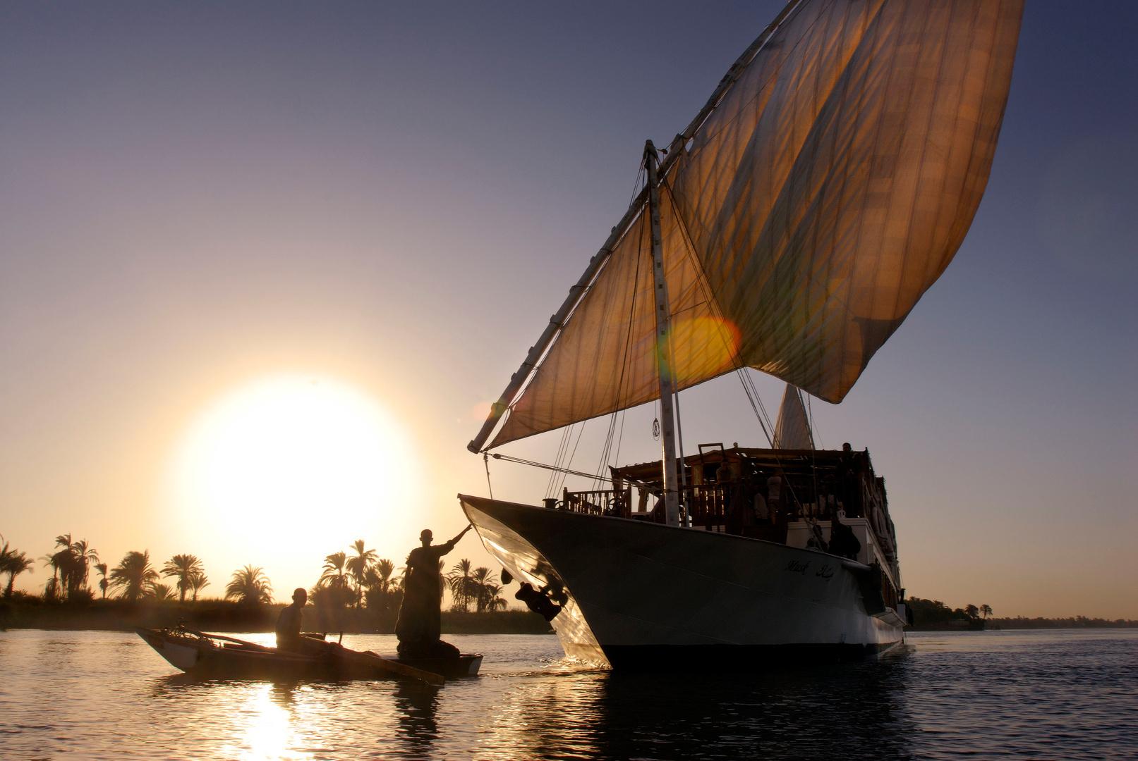 De Nijl bij Luxor voor Residence