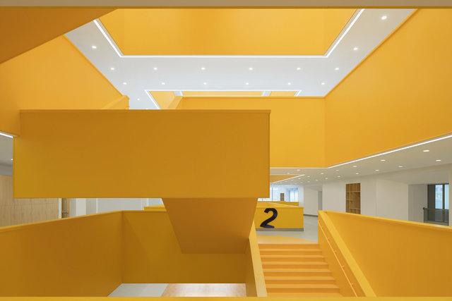 (摄影师夏至)崇文26_楼梯的悬空设计,让学生体验到简洁的力学美感.jpg