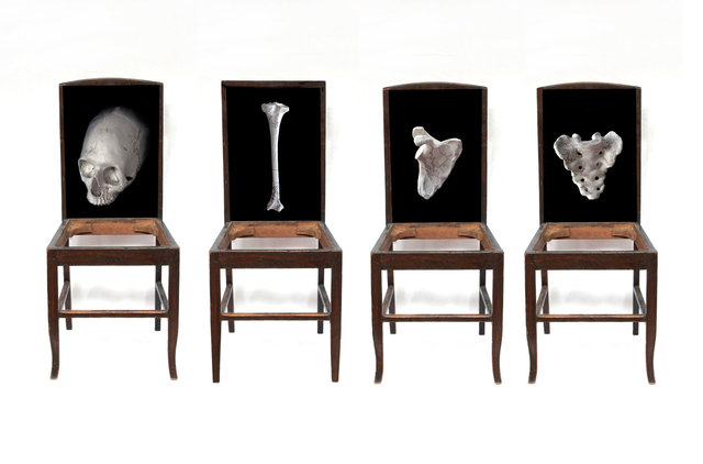 Days of Reckoning – timber chairs, digital photographs