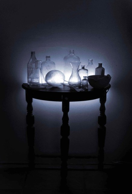 The Alchemist's table
