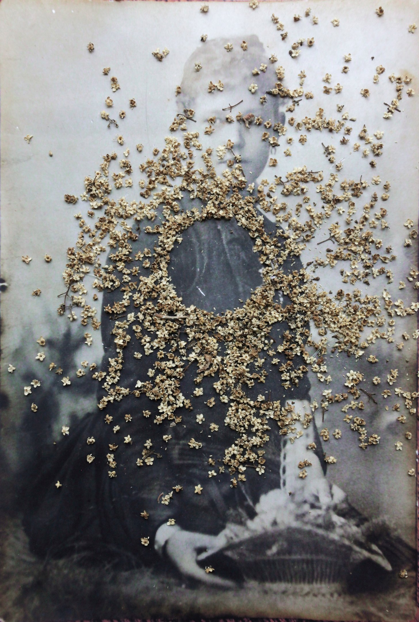 Berta: absence with flowers
