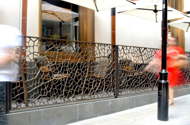 A to Z  2012 Bronze balustrade, 1x14 m, Bulgari Hotel London .jpg