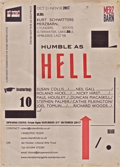 Humble as Hell 2017 flyer