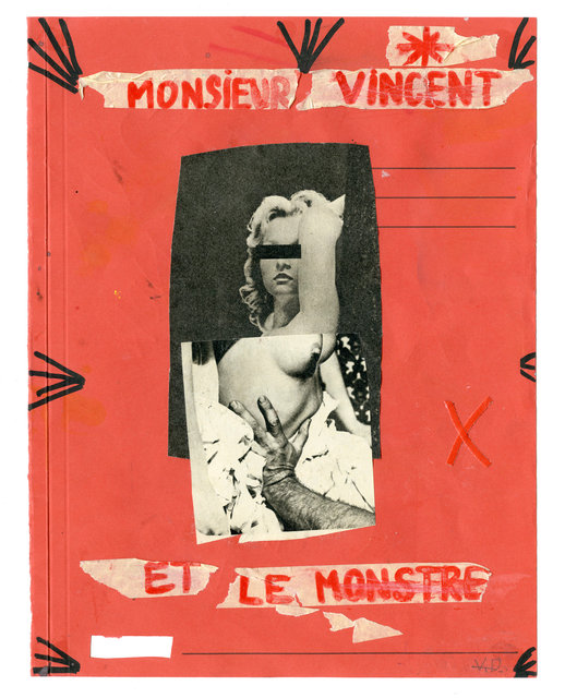 Monsieur Vincent 24 cm X 32 cm Mixed media Unique