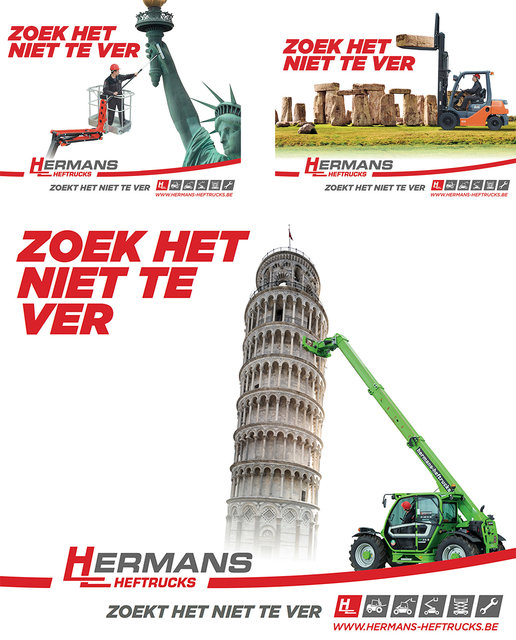 Billboards Hermans Heftrucks