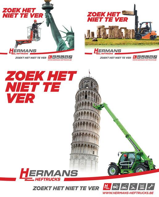 Billboards Hermans Heftrucks