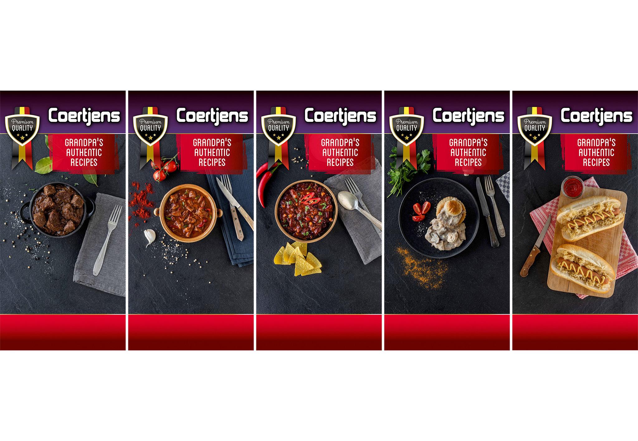 Foodstyling en -fotografie voor Coertjens i.s.m. Phobos & Actor