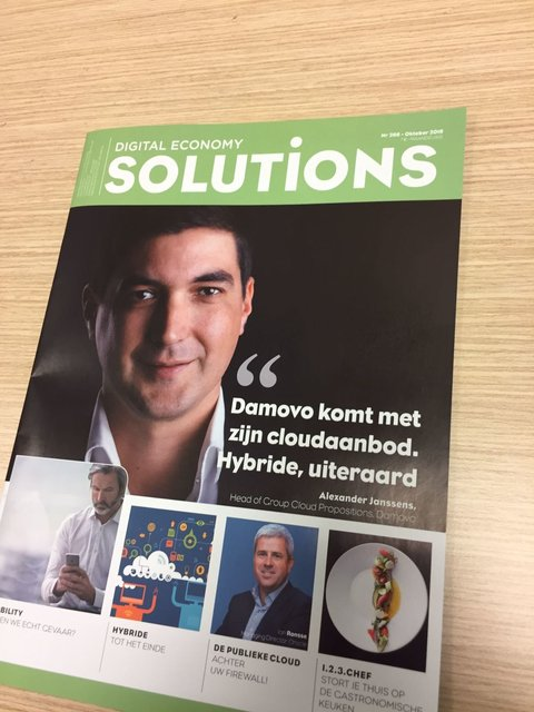 Solutions magazine cover