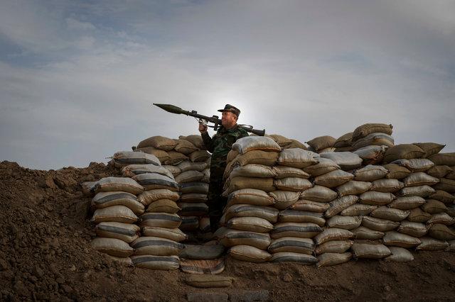 Peshmerga, Makhmour, Iraqi Kurdistan 2016