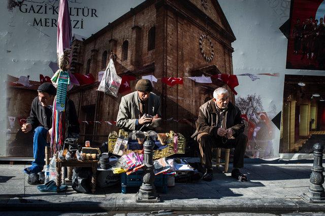 Peddlers, Gaziantep, Turkey 2014