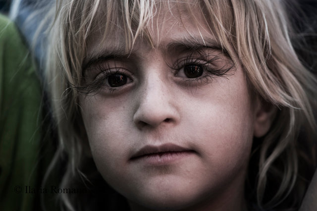Yazidian girl, Khazr Idp Camp, Kurdistan Iraq 2016