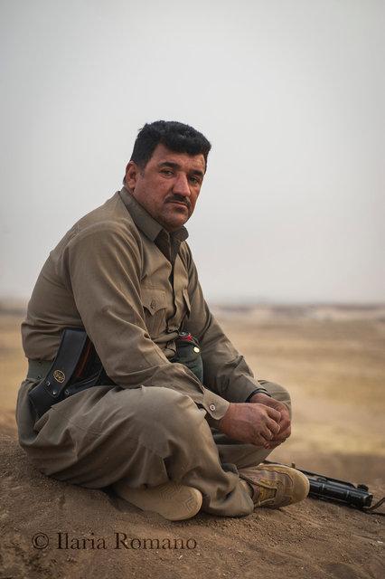 Peshmerga, Bashiqa Mountain, Iraqi Kurdistan 2017