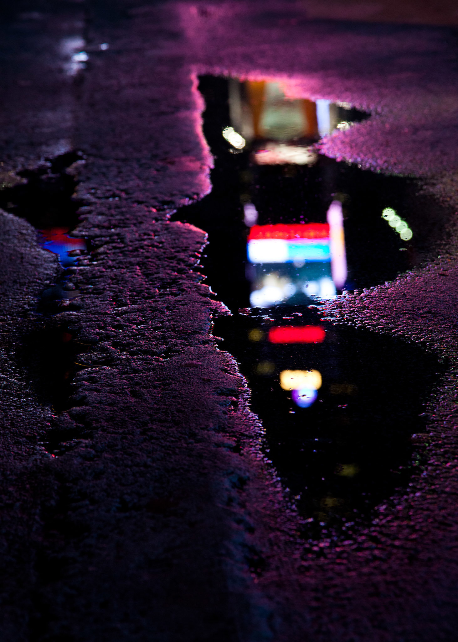 Times Square, 7:10pm