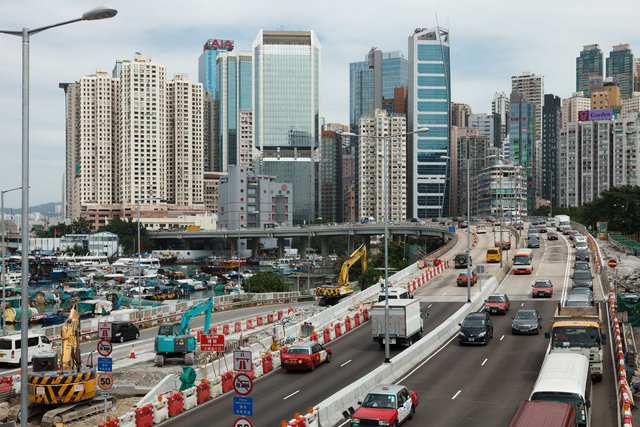 Causeway Bay Typhoon Shelter, Hong Kong