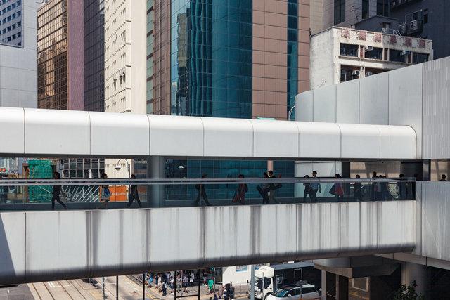 Central–Mid-Levels Escalator, Hong Kong