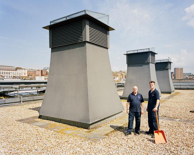 Rainwater Harvesting System, Jubilee Library