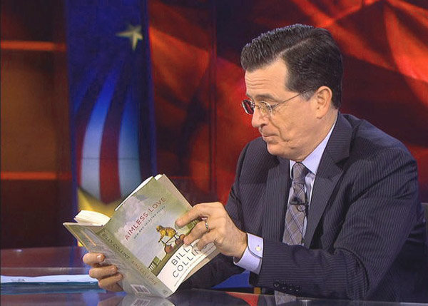 Billy Collins Interview with Stephen Colbert