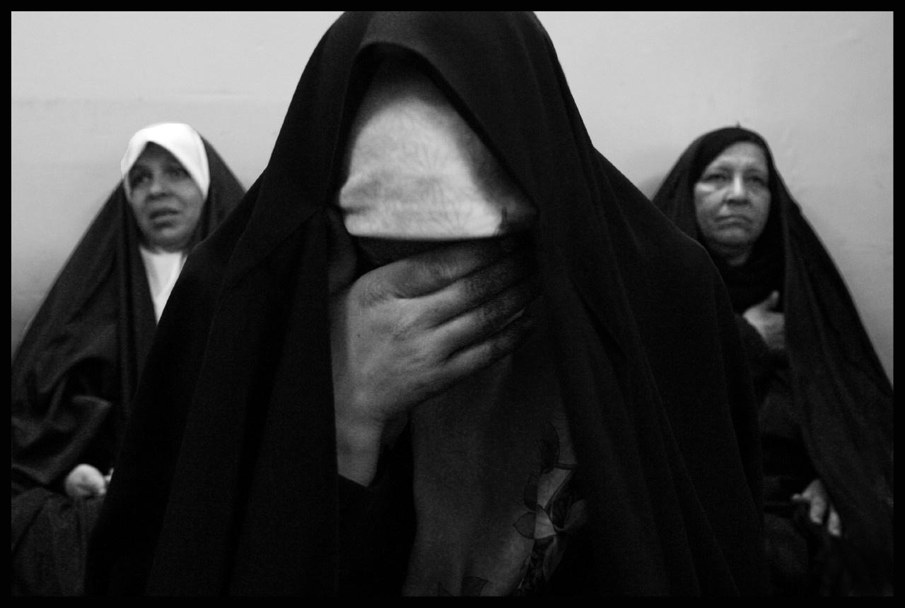 """Tchadors in Iraq"" - 2003 - près de Babylone"