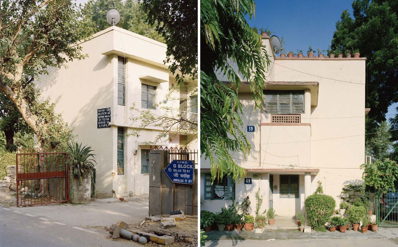 (L) Block G, Naurojini Nagar.   (R) Type III, Sector 1, RK Puram.