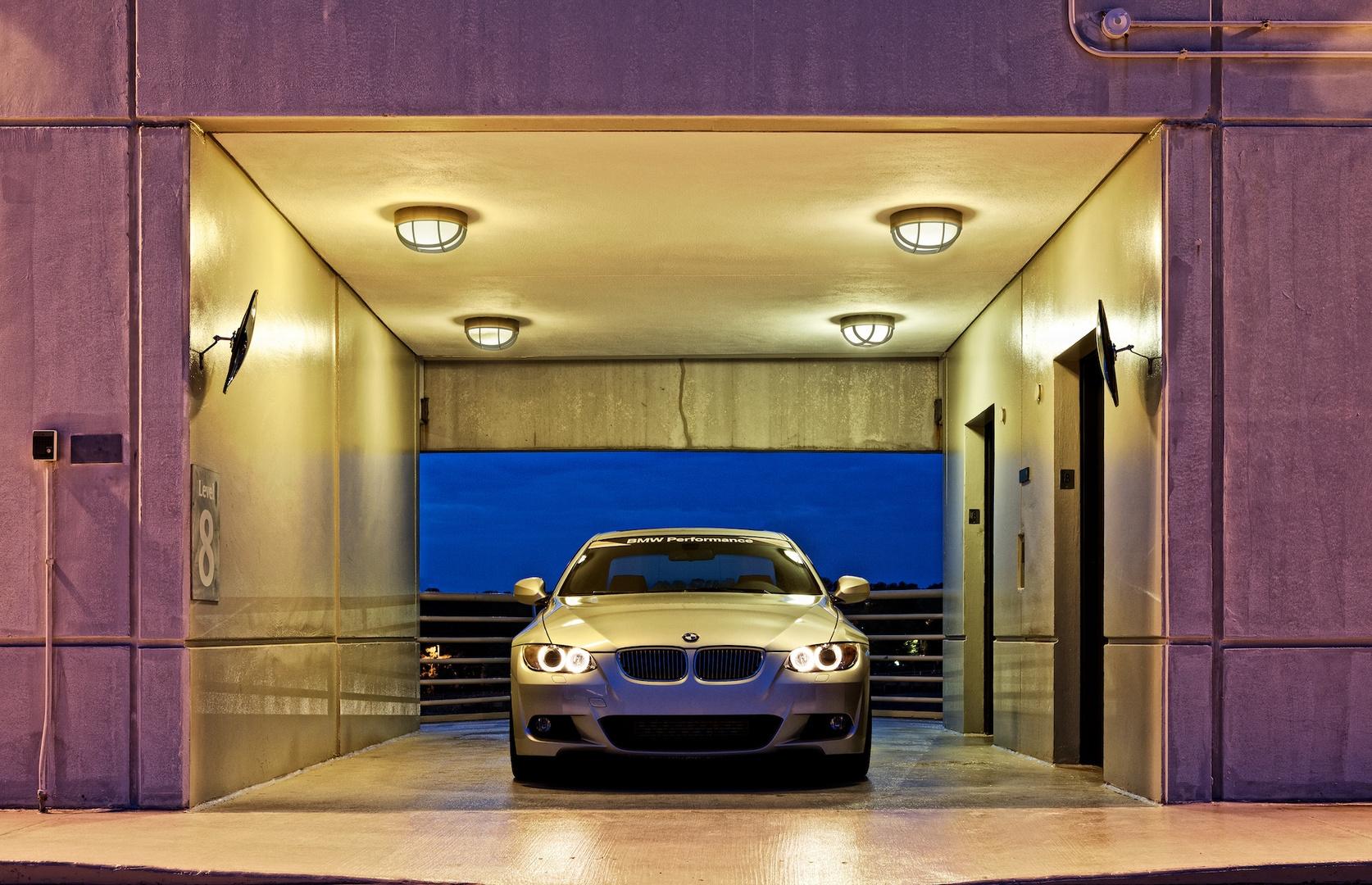 BMW at the Elevators