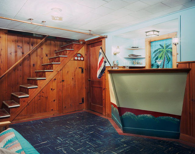 Untitled Interior (boat bar), 2006