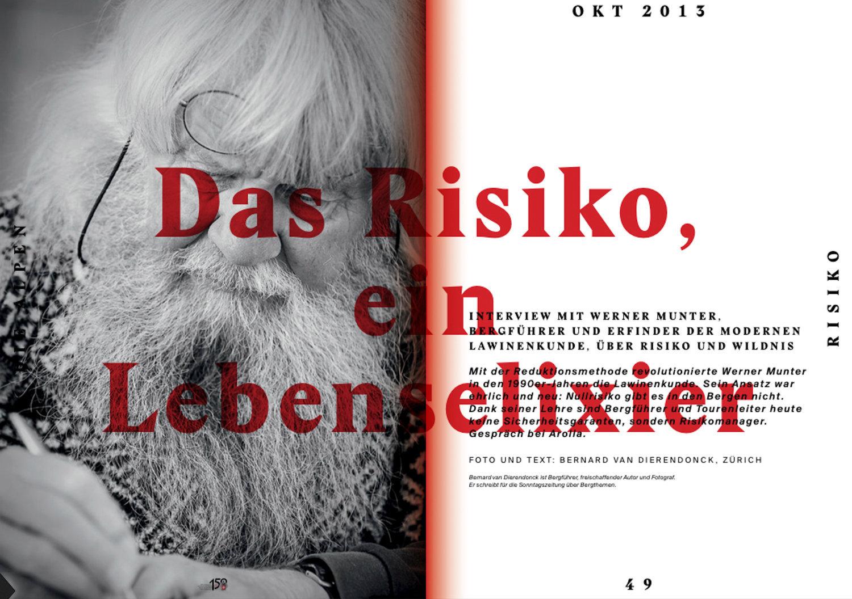 SAC, Die Alpen - Oktober 2013
