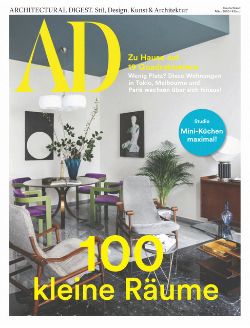 AD germany, March 2020 - cover story