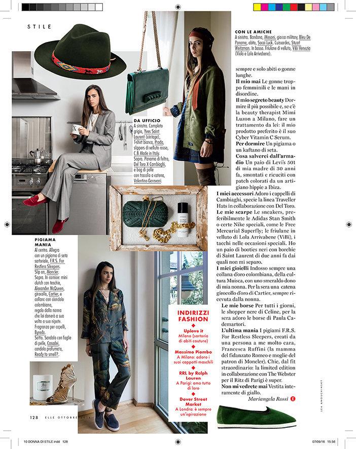 Elle Italia, October 2016