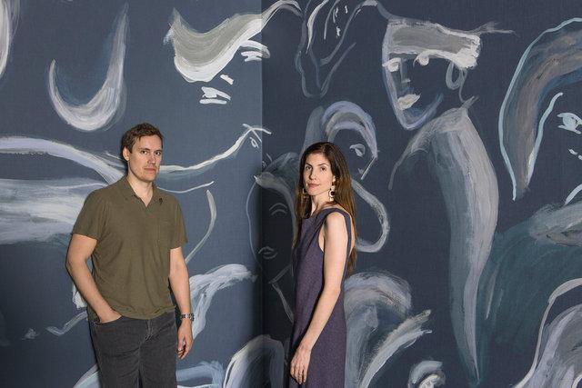 Nick & Rachel Cope - Calico Wallpaper