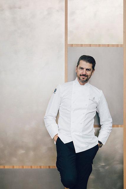 Chef Andrea Berton / RISTORANTE BERTON