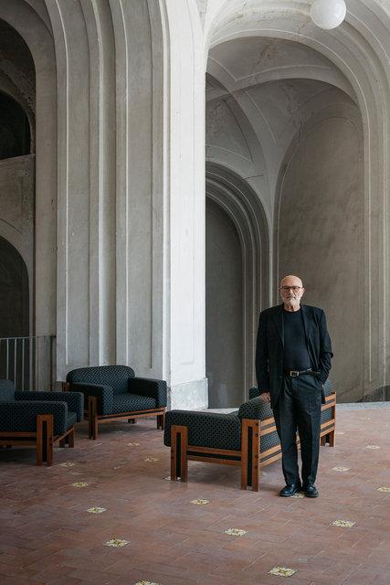 Giuseppe Morra at Casa Morra