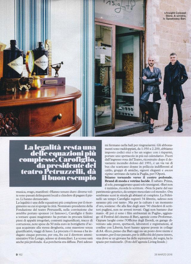 D Repubblica, March 2016