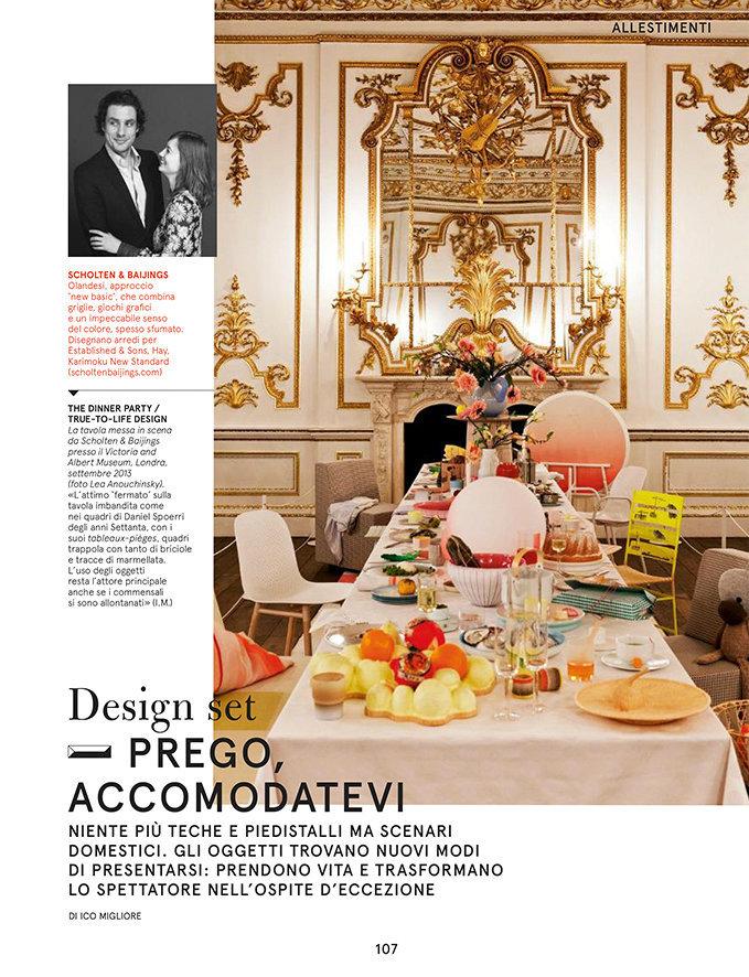 Living Corriere Della Sera, October 2013